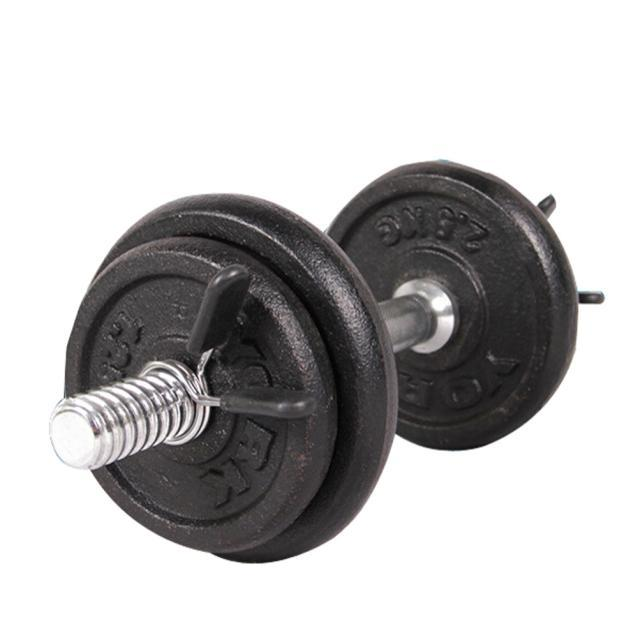 Latest trends 2Pcs 25mm Barbell Gym Weight Bar Dumbbell Lock Clamp Spring Collar Clips  Free shipping image