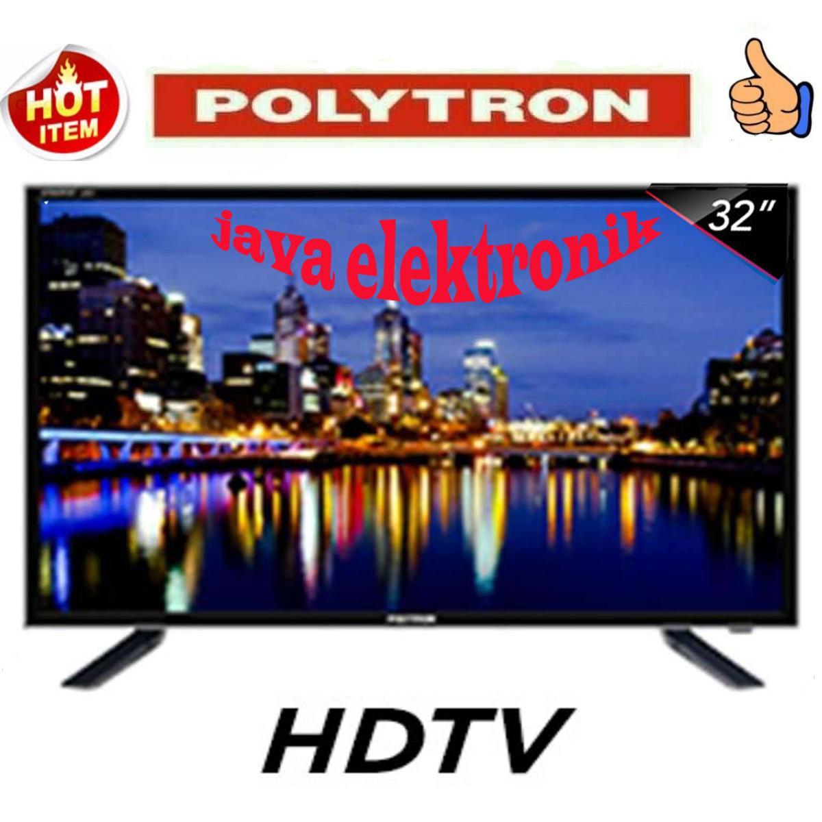 Polytron Pld32t100tv Led Tv 32inch Hitam Spec Dan Daftar Harga Sharp 24 Inch Aquos Hd Lc 24170i 32d7511 New 32 Garansi 5 Tahun Resmi
