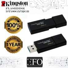 Kingston DT100G3 32GB DataTraveler USB Flashdisk ORIGINAL Garansi 1 Tahun