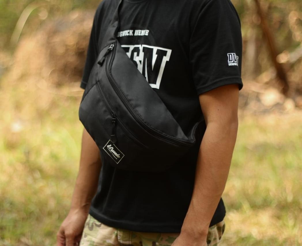 Tas waistbag pria/ tas punggung/tas distro/tas murah/waistbag pria