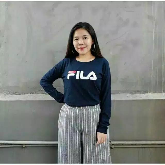Maestro fashion Tumblr FILA LENGAN PANJANG   T-Shirt Tumblr Tee   T-shirt 6e2d2effe6