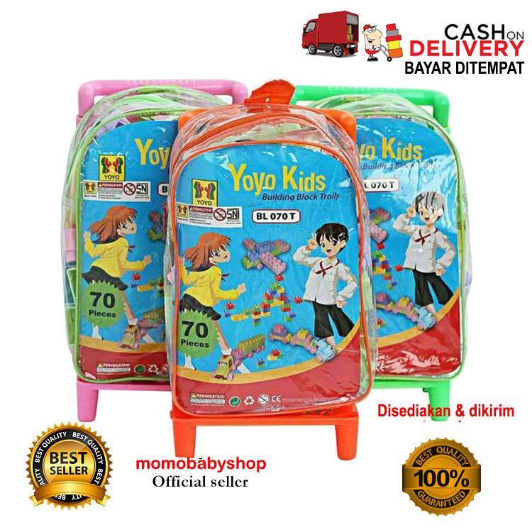 Tas Tenteng Anak Sekolah Dori Limited. Source · Momo Toys Building Block Trolly Yoyo Kids