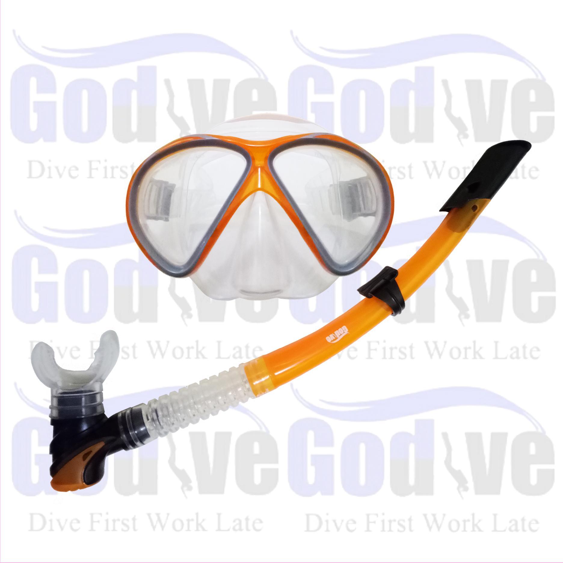 ... Fin Full Heel Fs 04 37 38; Page - 2. Alat Selam Godive Snorkeling Mask & Snorkle Set M6201Rp379 000