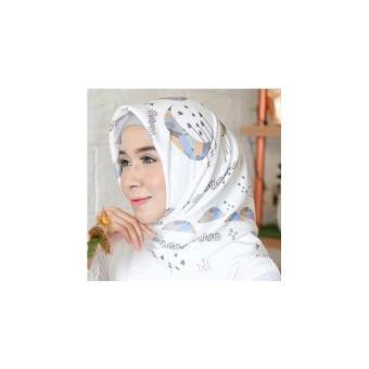 Hijab Maxmara Motif Bulan Bintang - Segiempat Bulan Bintang Maxmara Square Bulan Bintang Daily Hijab Hijab