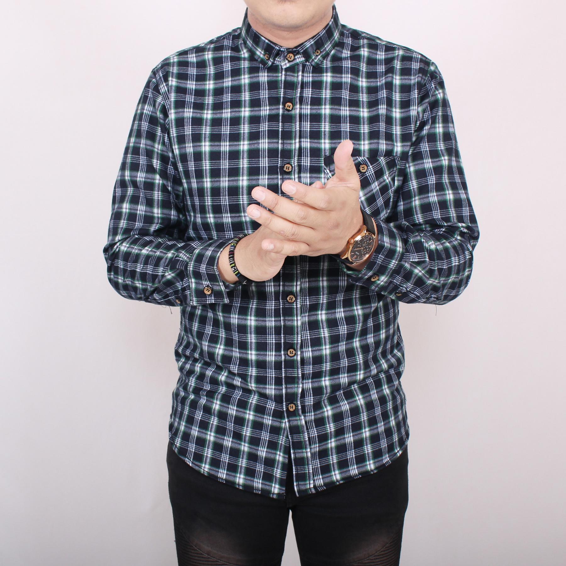 -71%. zs_fashion 6172 Kemeja Flanel Pria Lengan Panjang Kemeja Flanel Cowok Exclusive ...