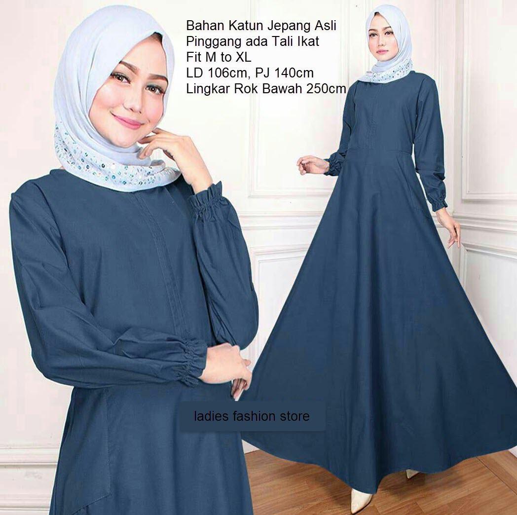 Gamis Polos / Fashion Wanita / Fashion Muslim / Gamis Wanita / Gamis Murah  / Gamis BUSUI / Baju Gamis Muslim Syari / Dress Muslim / Gamis Wanita /