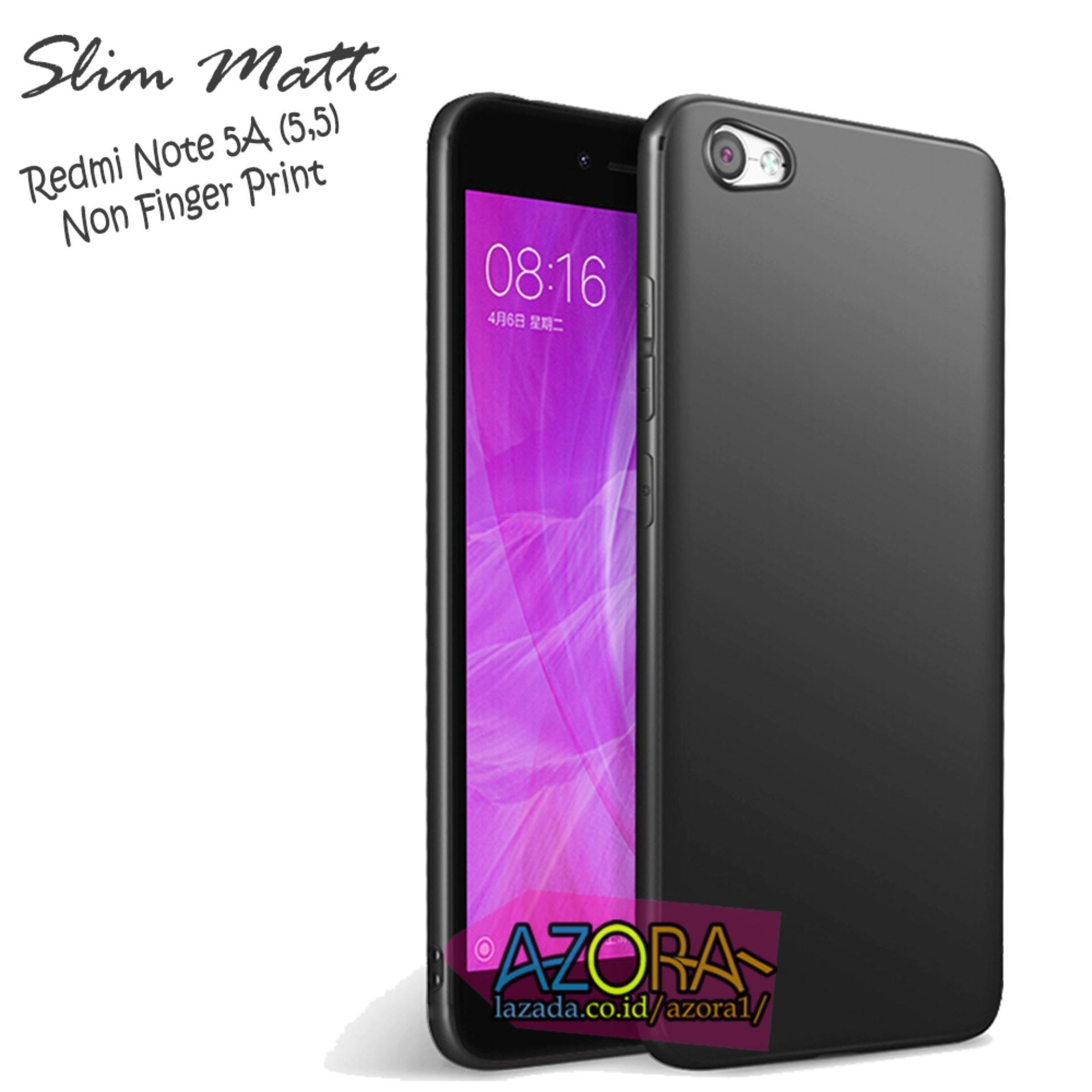 Kelebihan Case Slim Black Matte Xiaomi Redmi Note 5a Non Finger Temperred Glass Softcase 3 Print Baby Skin Ultra Thin