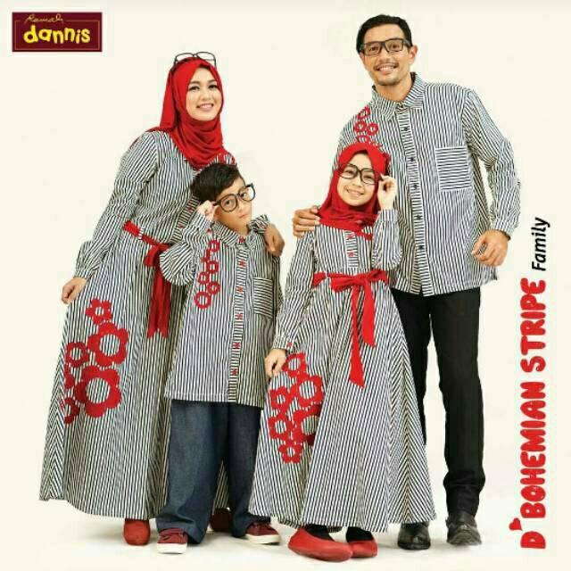 Terbaru Dannis D Bohemian Stripe Koko Ayah Lazada Indonesia