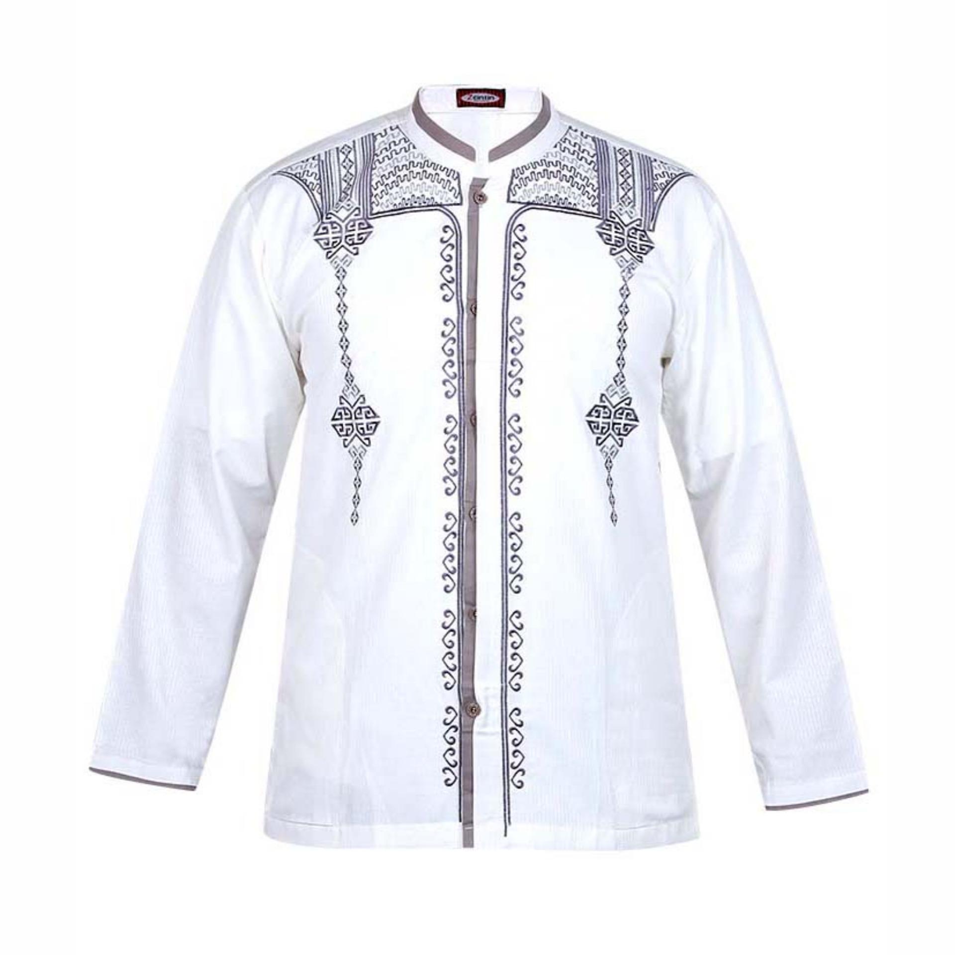 Zeintin Baju Koko Trendy Pria Uj 0368 Caramel Daftar Harga A7836 Kemeja Batik Slimfit Zkp006