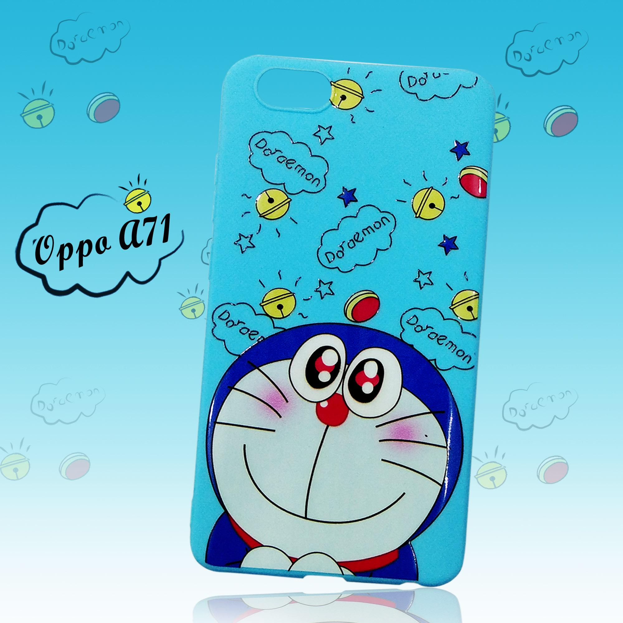 Rp38.000Intristore Fashion Case Sillicon For Oppo A71 Doraemon