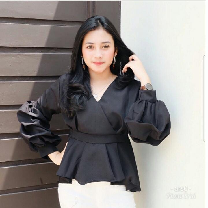 Rp60.000RameRame/NF/kimono susan black/blouse kekinian model kimono/fashion