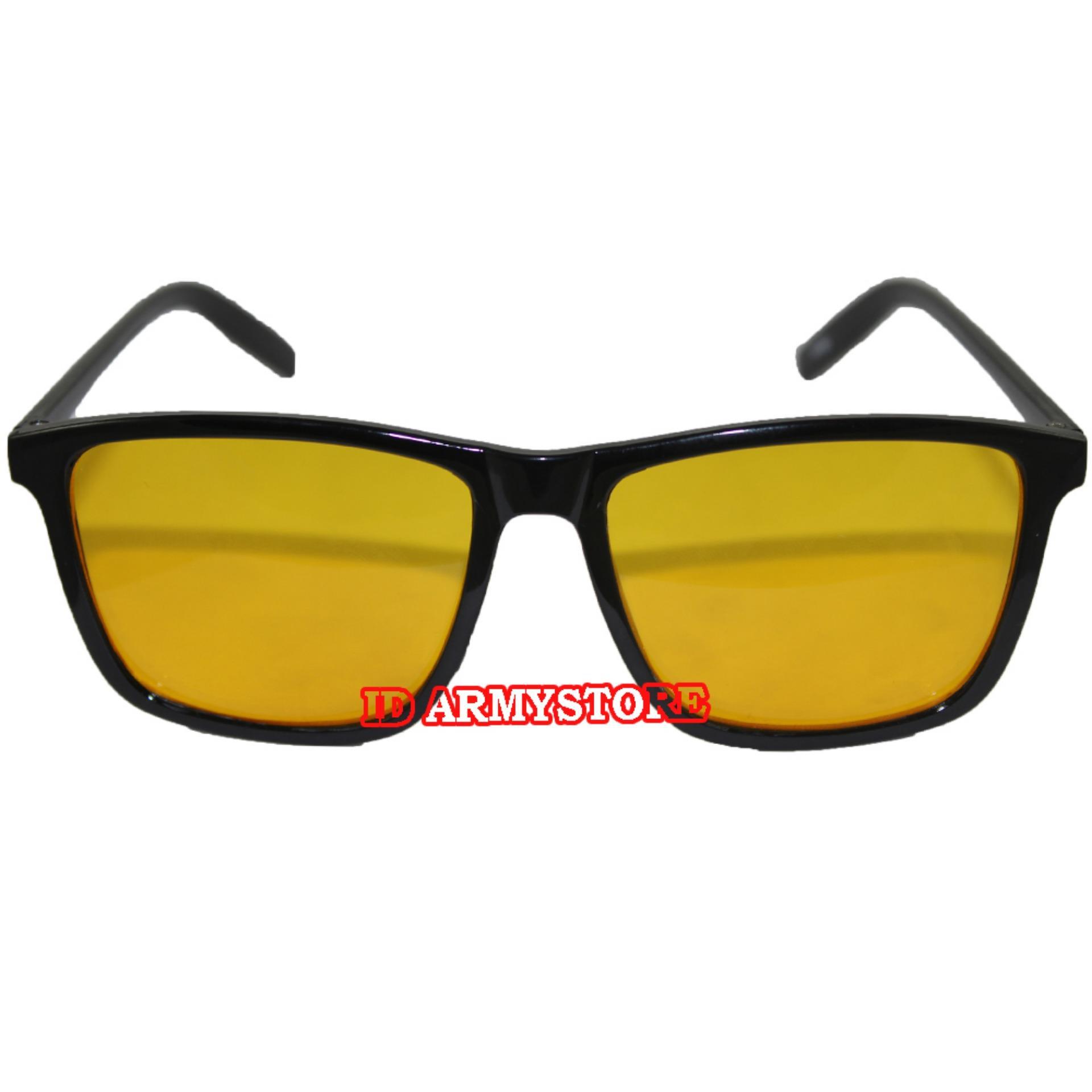 ID Sunglass - Kacamata Wayfar D-Frame Pria Wanita - Frame Coklat - Lensa  Coklat 3eef914cf1