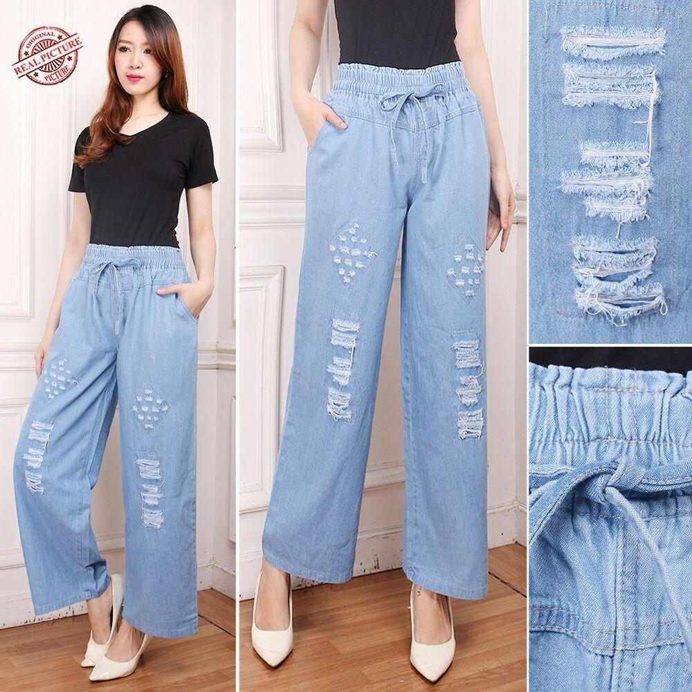 168 Collection Celana Panjang Varas Longpant Jeans Wanita