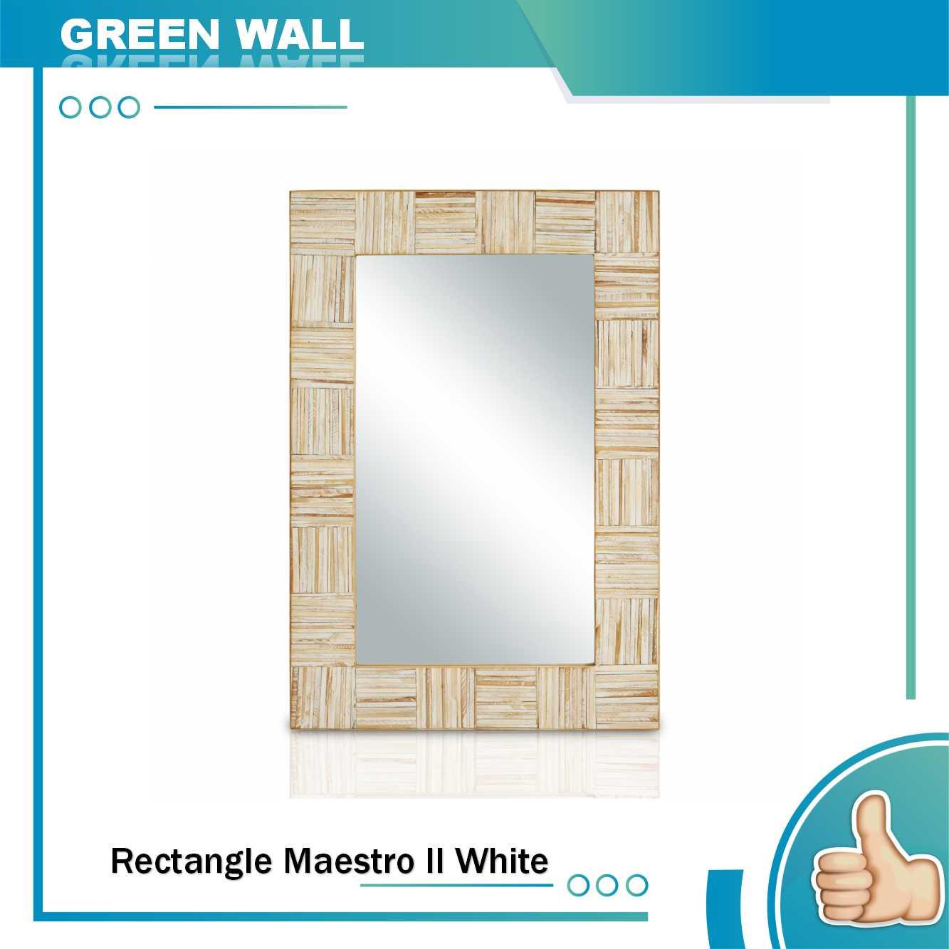 Home Living Green Wall Daftar Harga Plaza Furniture Savello Emerald La Kursi Kantor Jabodetabek Cermin Dinding Rectangle Maestro Ii Putih