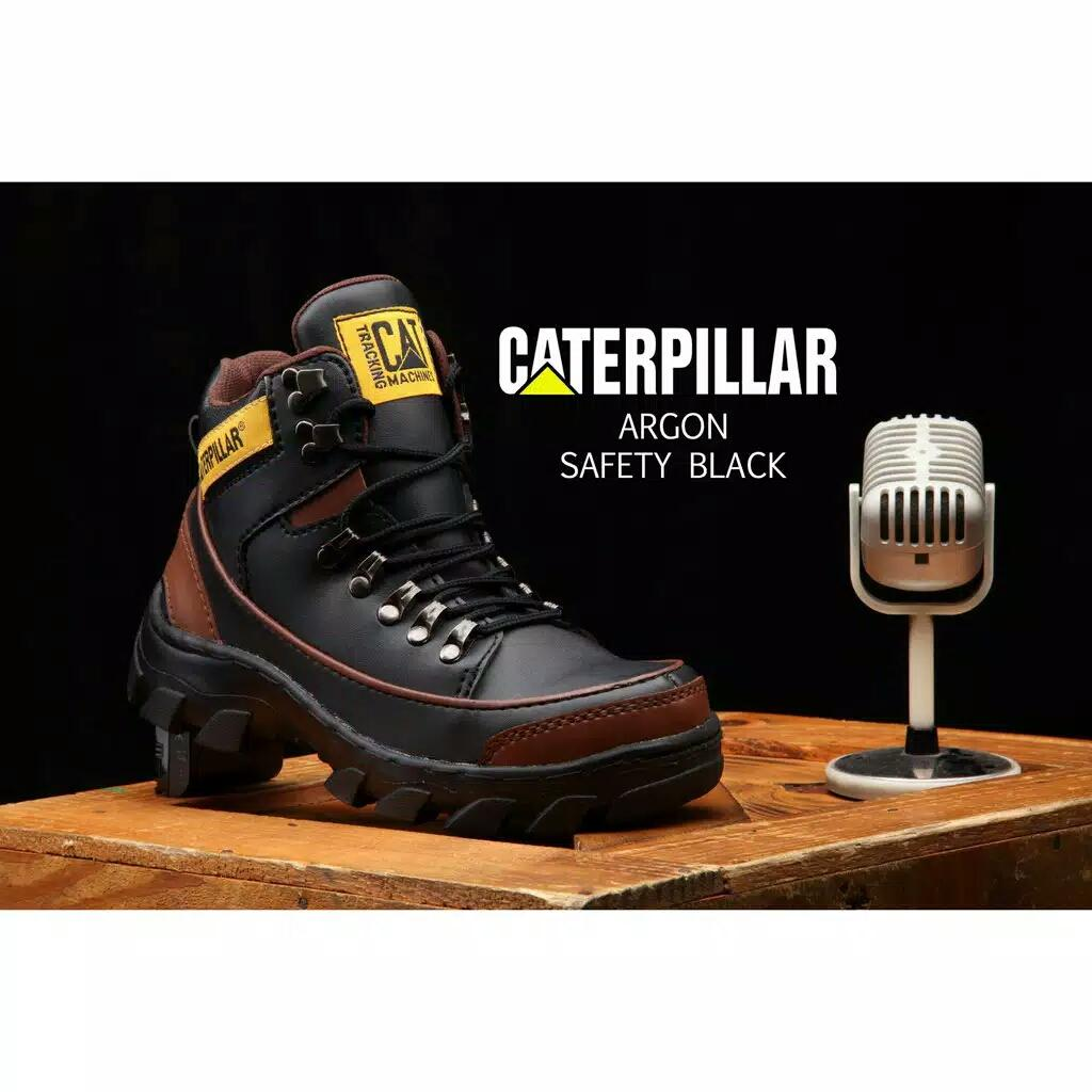 CATERPILLAR ARGON ( CAT190333 ) - Work & Safety Boot PVC Leather Oil Resistant Men Shoes