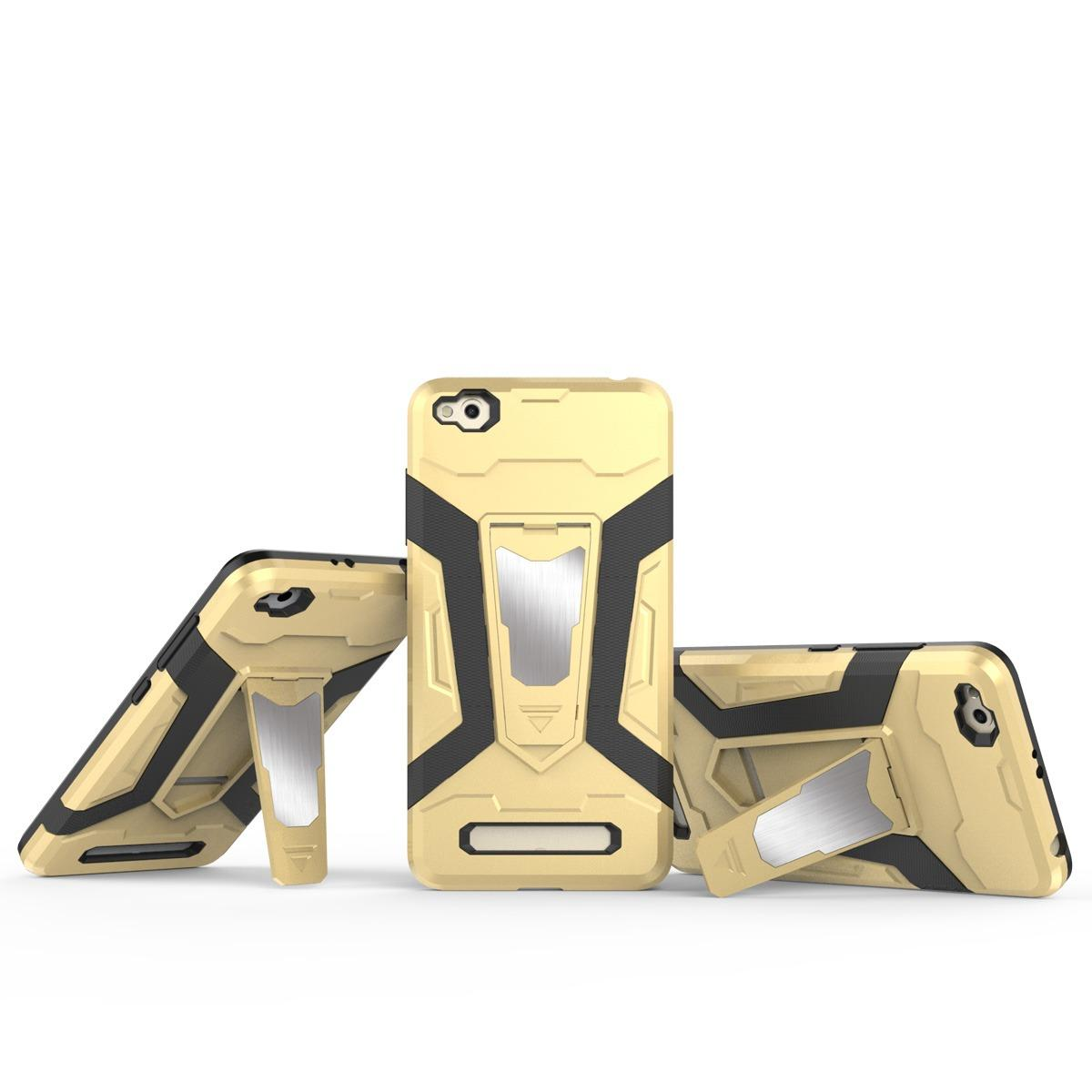 Case Iron Man for Xiaomi Redmi 4A Robot Transformer Ironman Limited - Merah