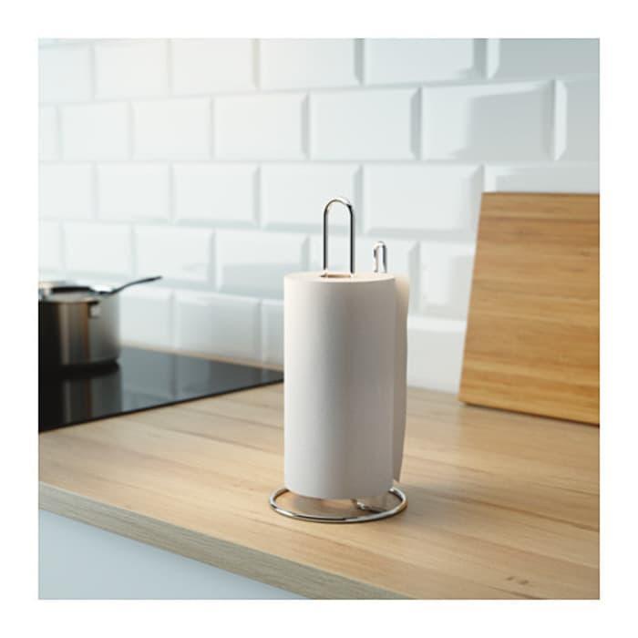 Tempat Tissue Gulung Roll Baja Ikea Torkad Kotak Tisu Minyak Dapur