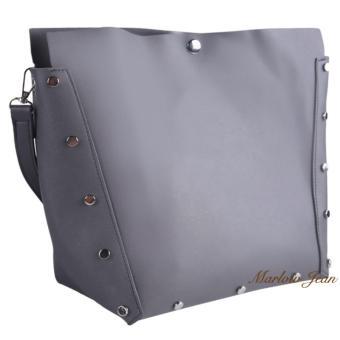 Marlow Jean Tas Pundak Wanita 2 in 1 Bahan Kulit   Women Fashion Shoulder Bag  Tote 11b2ce8bc2