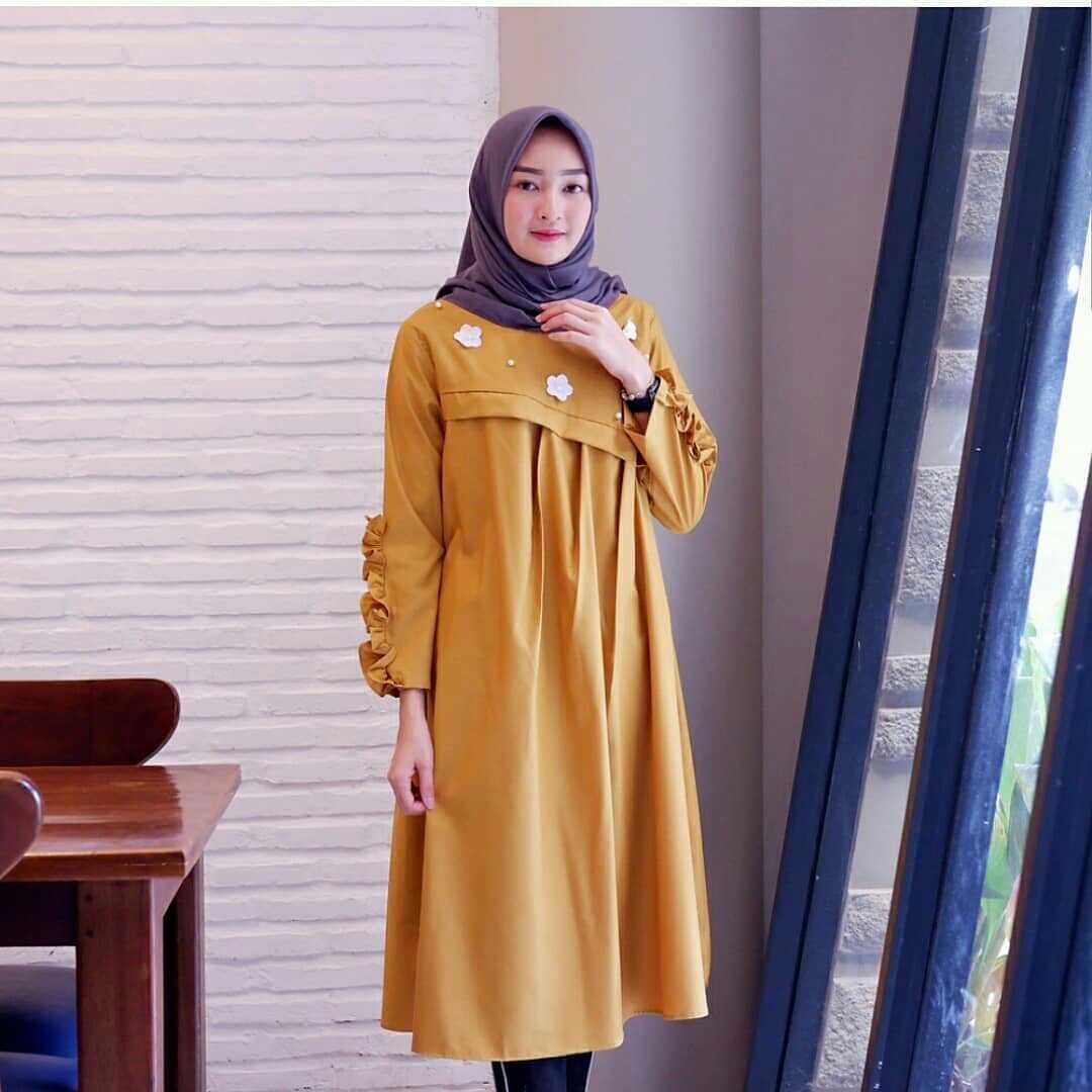 Atasan Baju Original Daftar Harga Desember 2018 Tas Import Anne Gratis Hijab Instan Najwa Aglrbo Tunik Amelia Tunic Balotelly Lengan Panjang Terbaru Pakaian Wanita Murah