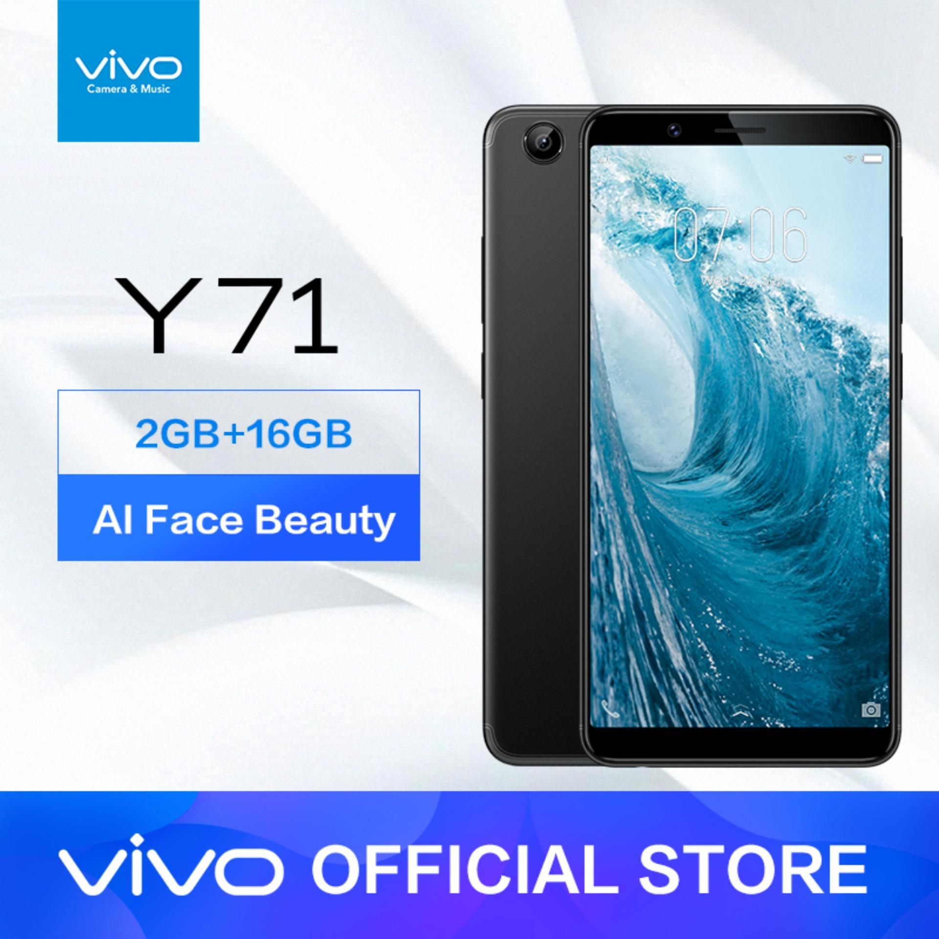 Vivo Y71 2GB RAM/16GB ROM - Black