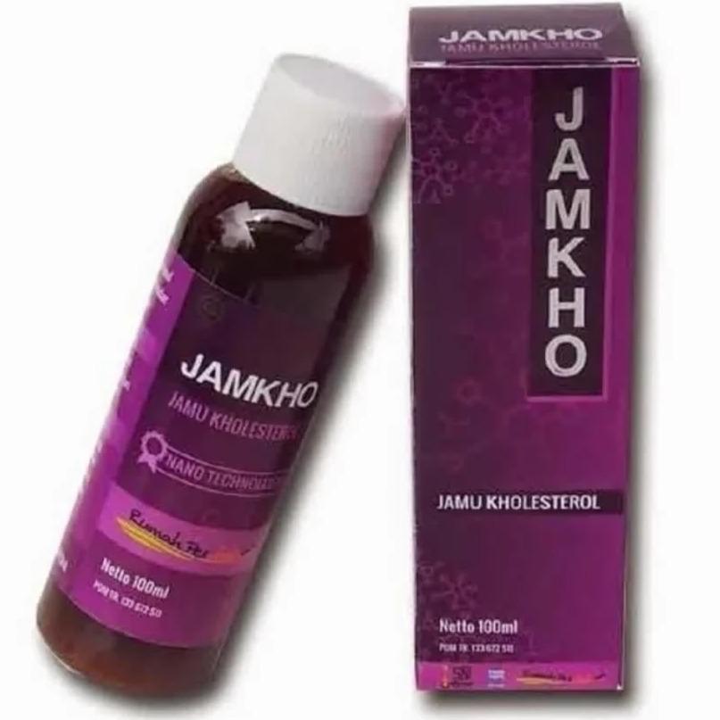 Jamkho | Jamu Kolesterol | Obat Kolesterol Jamkho | Jamkho 100 Ml