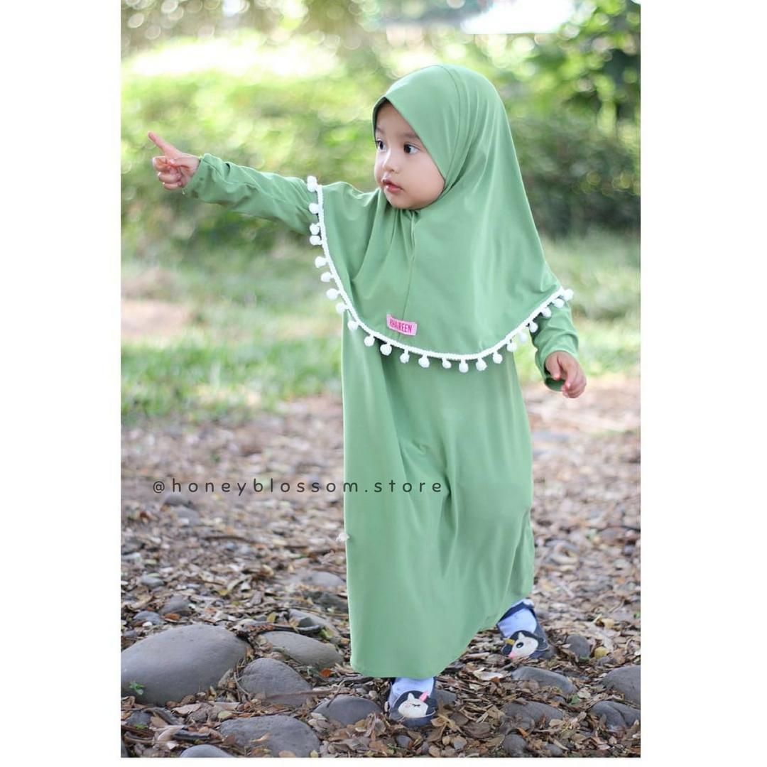 Fashion Gamis Jersey Daftar Harga Desember 2018 Dksh New Elegant Sandal Wedges Wanita Dknz 315 Khaireen Baju Muslim Anak Pesta Bayi Pompom