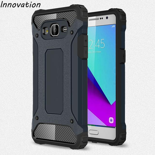 new products 63e62 fbb91 Hardcase Casing Handphone Spigen Iron Man Case Samsung Galaxy J2 Prime-/  Granprime /;- OC _SHOP