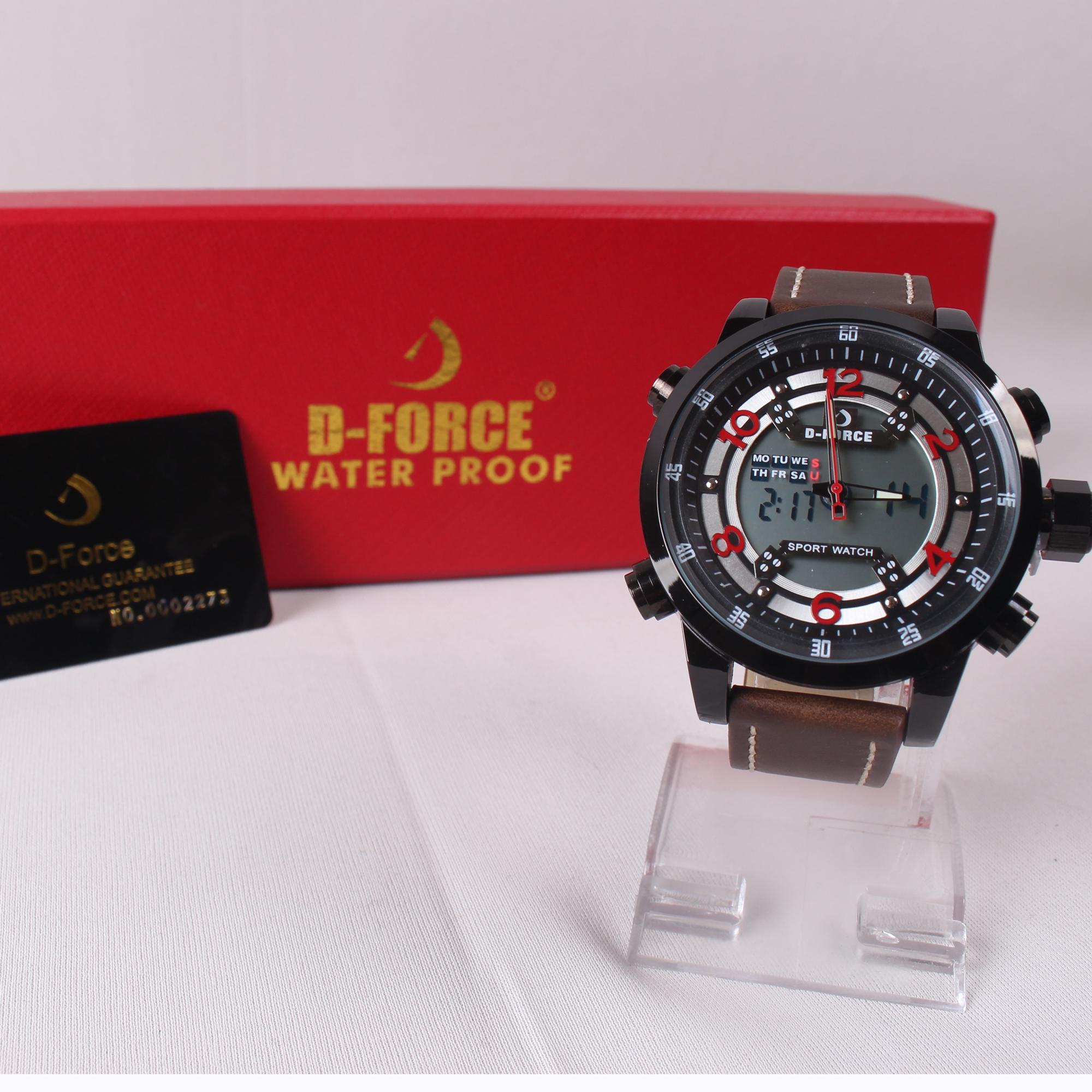 Swiss Army Dual Time Jam Tangan Pria Sa 1502 Full Black Red Stainless .