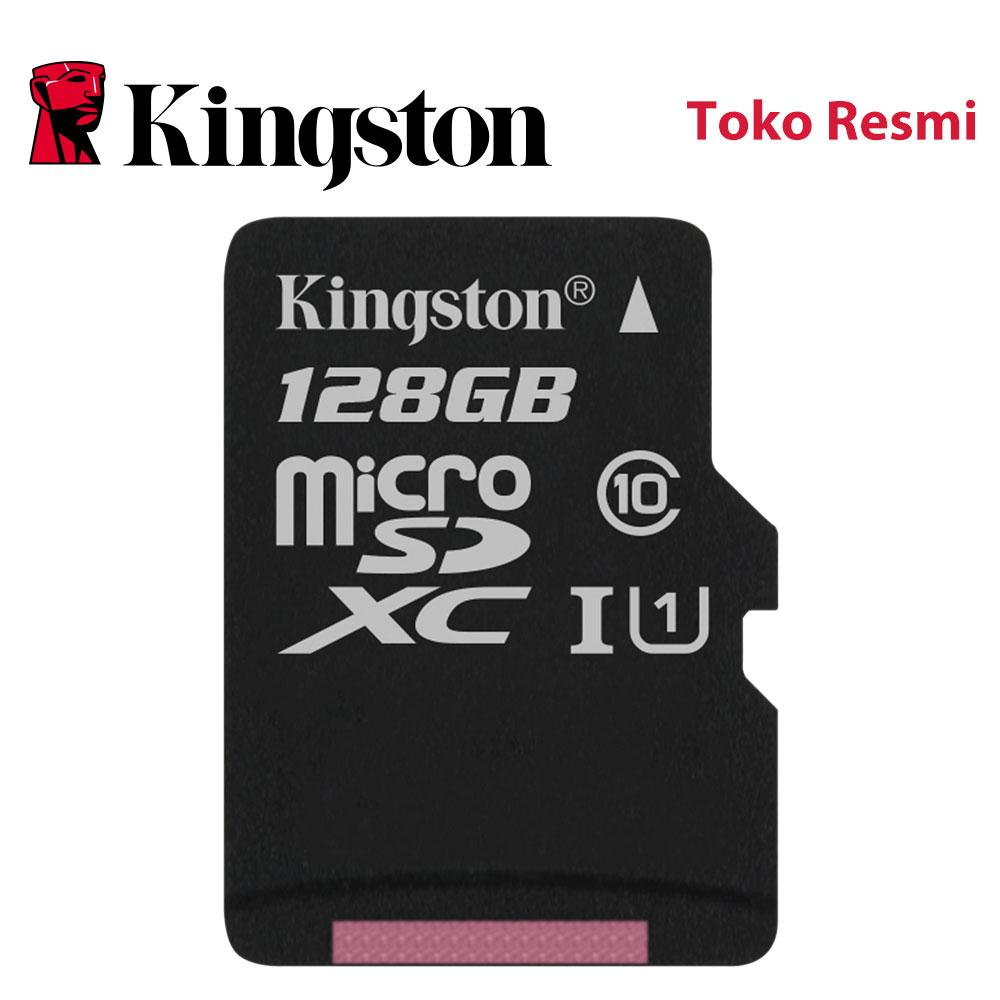 Kingston Sd Card 128gb Class 10 - Model Sdc10g2/128gbfr By Your Choice Shop.