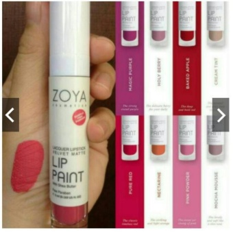 Zoya Velvet Matte Lip Paint pure red
