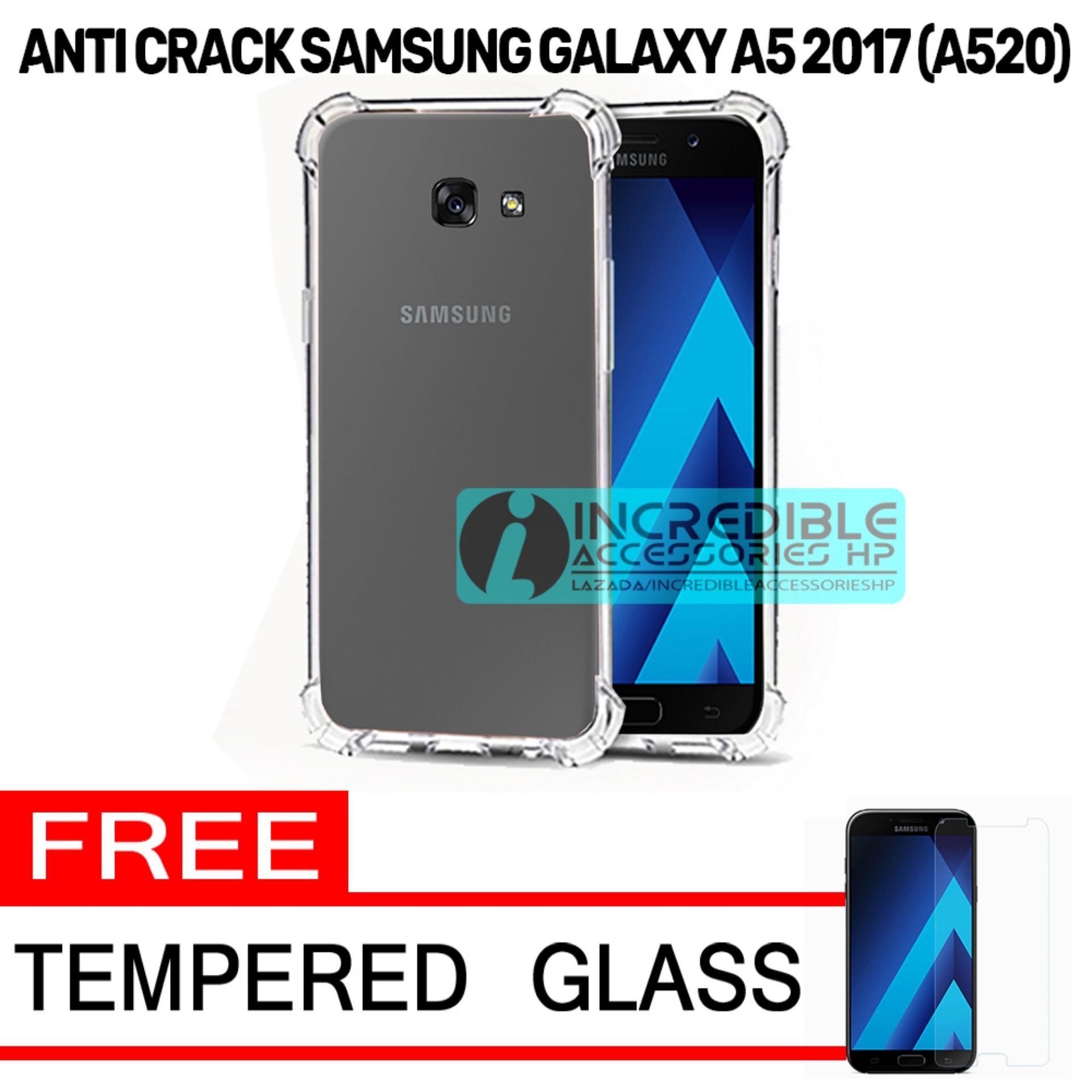 Case Anti Shock / Anti Crack Elegant Softcase for Samsung Galaxy A5 2017 - White Clear