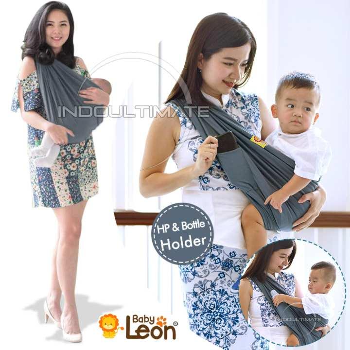 BABY LEON GENDONGAN Bayi Kaos/Geos/selendang Bayi Praktis