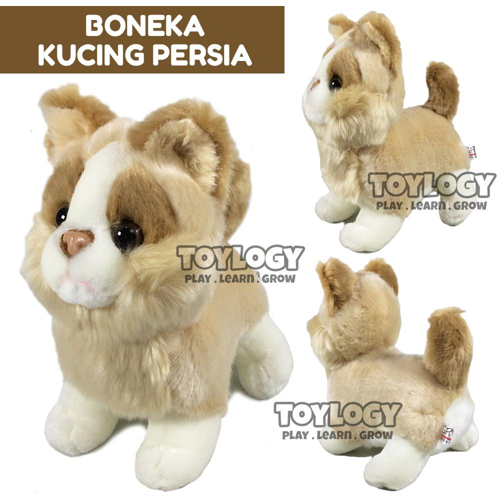 Grow Boneka Hewan Kucing Persia ( Standing Persian Cat Stuffed Plush Animal  Doll ) 9 inch 1de095e1b8