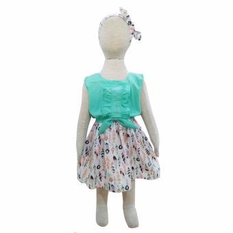 Grow Baju Gaun Harian Anak Perempuan Irish (Grow Gown Dress Clothes Irish Child ) TOSCA