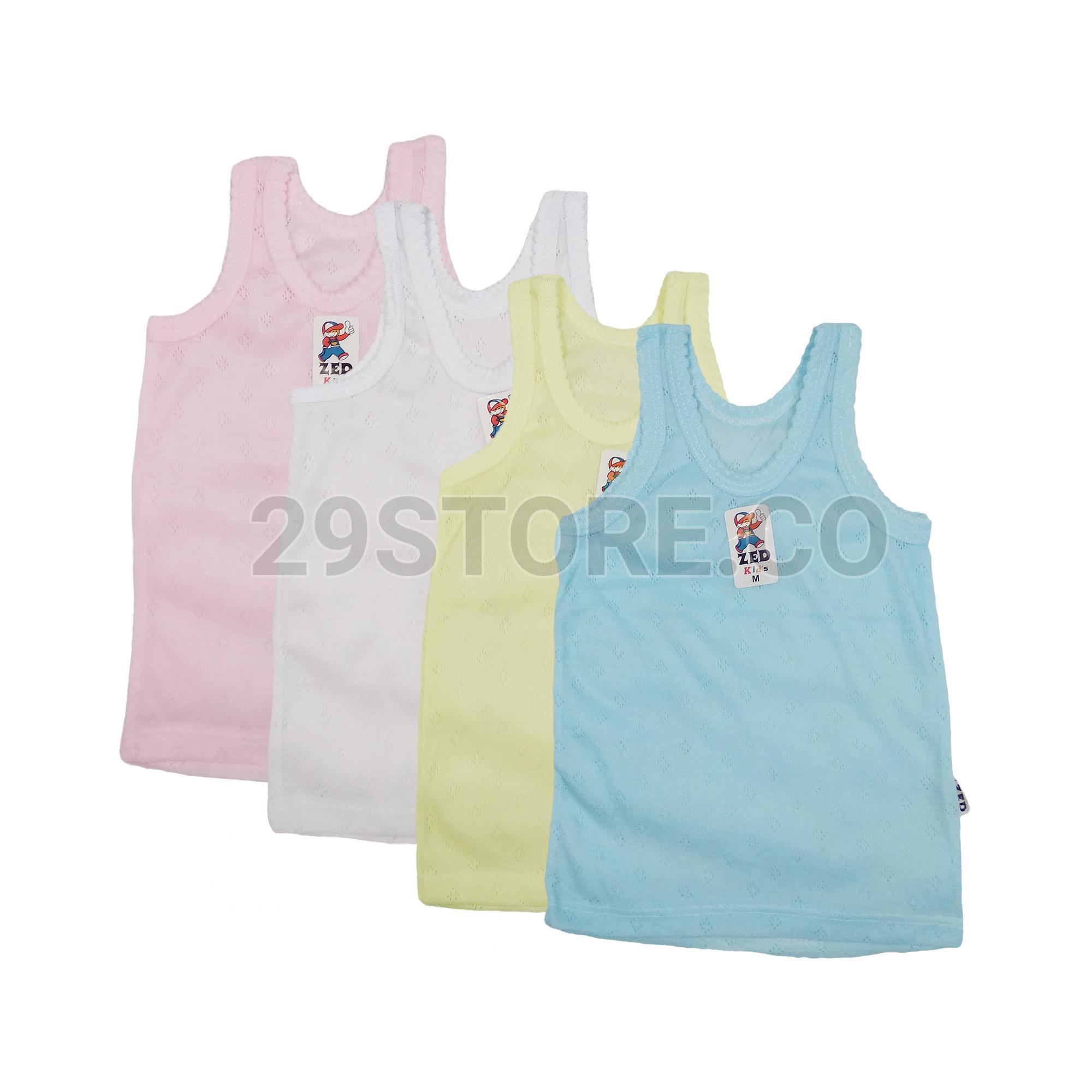 6 Pcs - Kaos Dalam Singlet Undershirts Anak Laki-Laki Cowok Zed Kids 066e4ac1e9