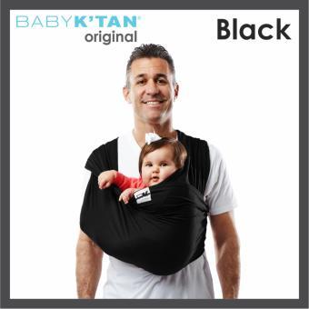 Baby K'tan Baby Carrier Original Basic Black size L