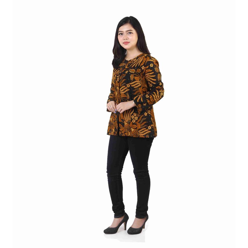 Batik Blouse Batik Blus Batik Blouse Blus Baju Batik Batik Kerja Baju Batik Wanita Baju Atasan Wanita Baju Batik Atasan Model Baju
