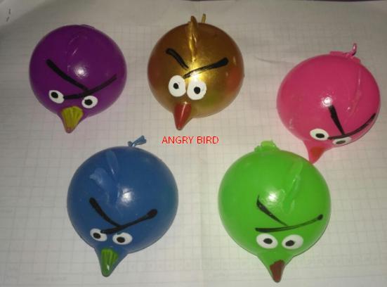 OBRAL TERMURAH Splat Toys Angry Bird - Mainan Bantingan Kembali Wujud semula TERLARIS
