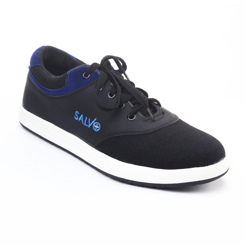 Salvo Sepatu sneaker A02-hitam merah  23eb3c329e
