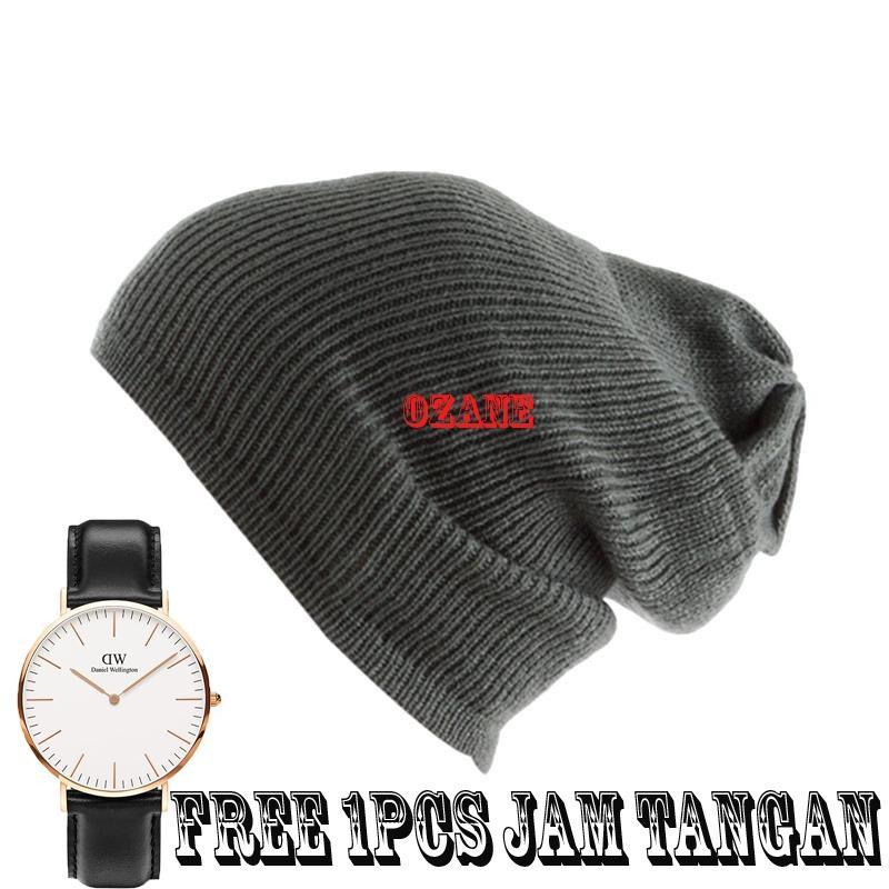 Jfashion New Beanie Hat Topi Kupluk rajut. Source · Topi Pria Wanita - Model 03581dfb0a
