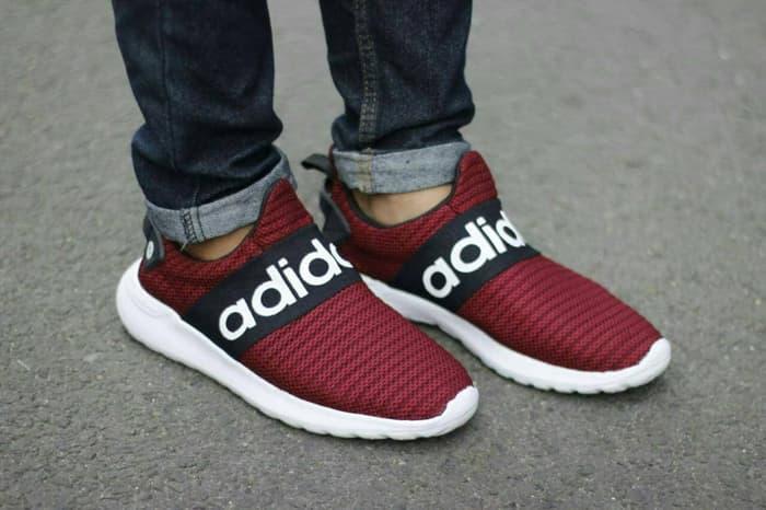 Adidas Climacool Slip On Sepatu Pria Sneakers Kets Murah