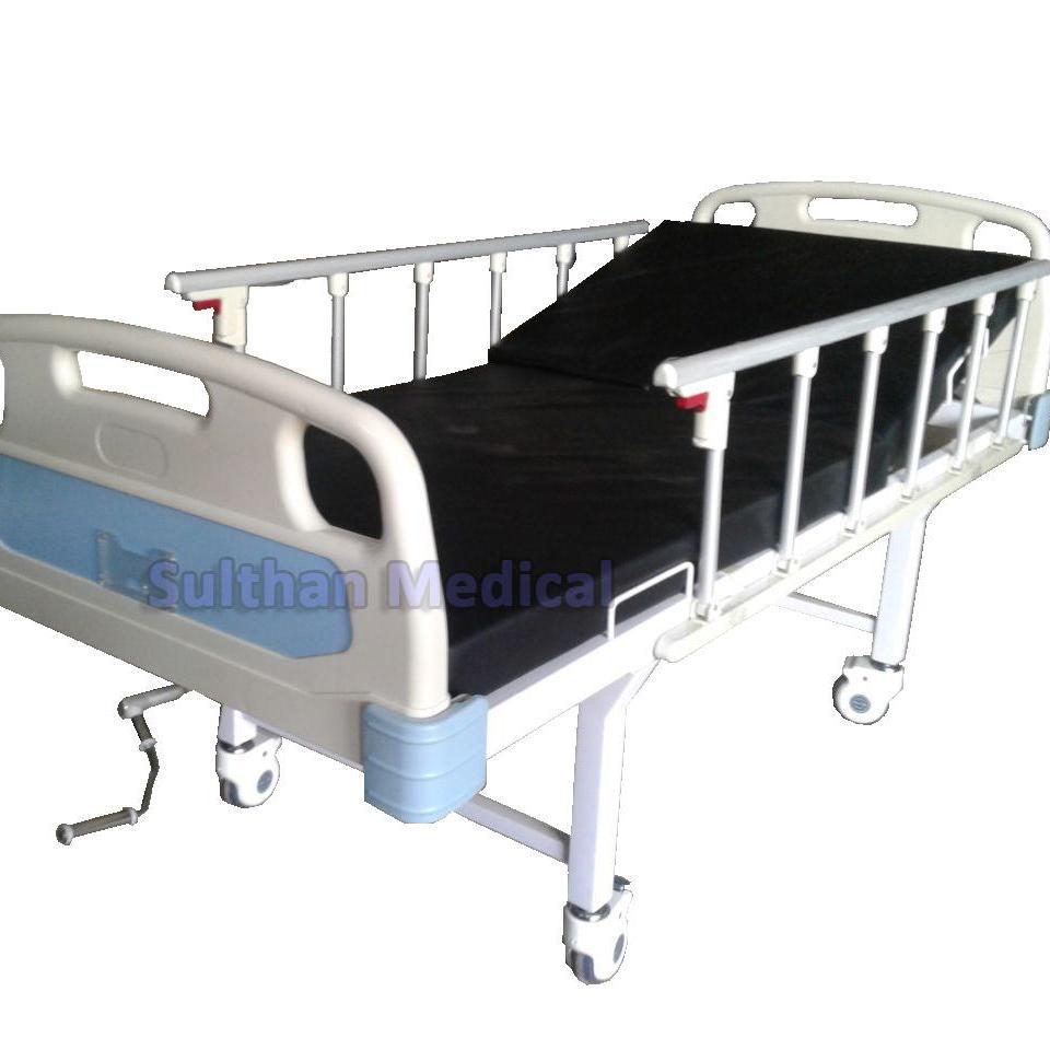 Bed Pasien 1 Crank Abs Deluxe Matras Ranjang Rumah Sakit 1 Engkol Lazada Indonesia