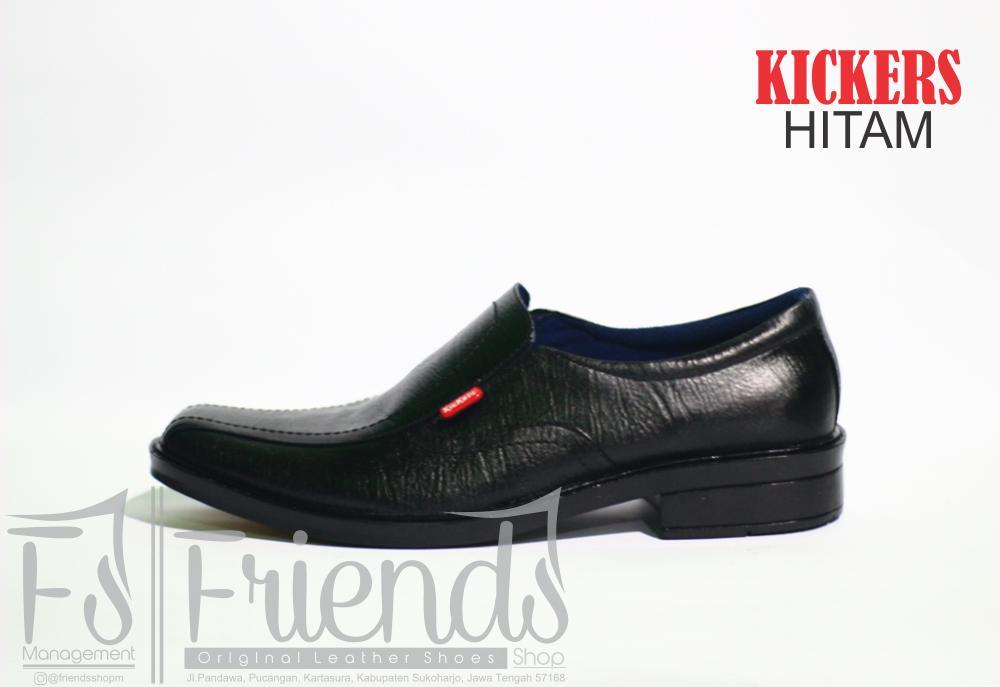 sepatu pantofel pria kickers kulit sapi asli 100% formal kerja dinas  kantoran  41748f86f4