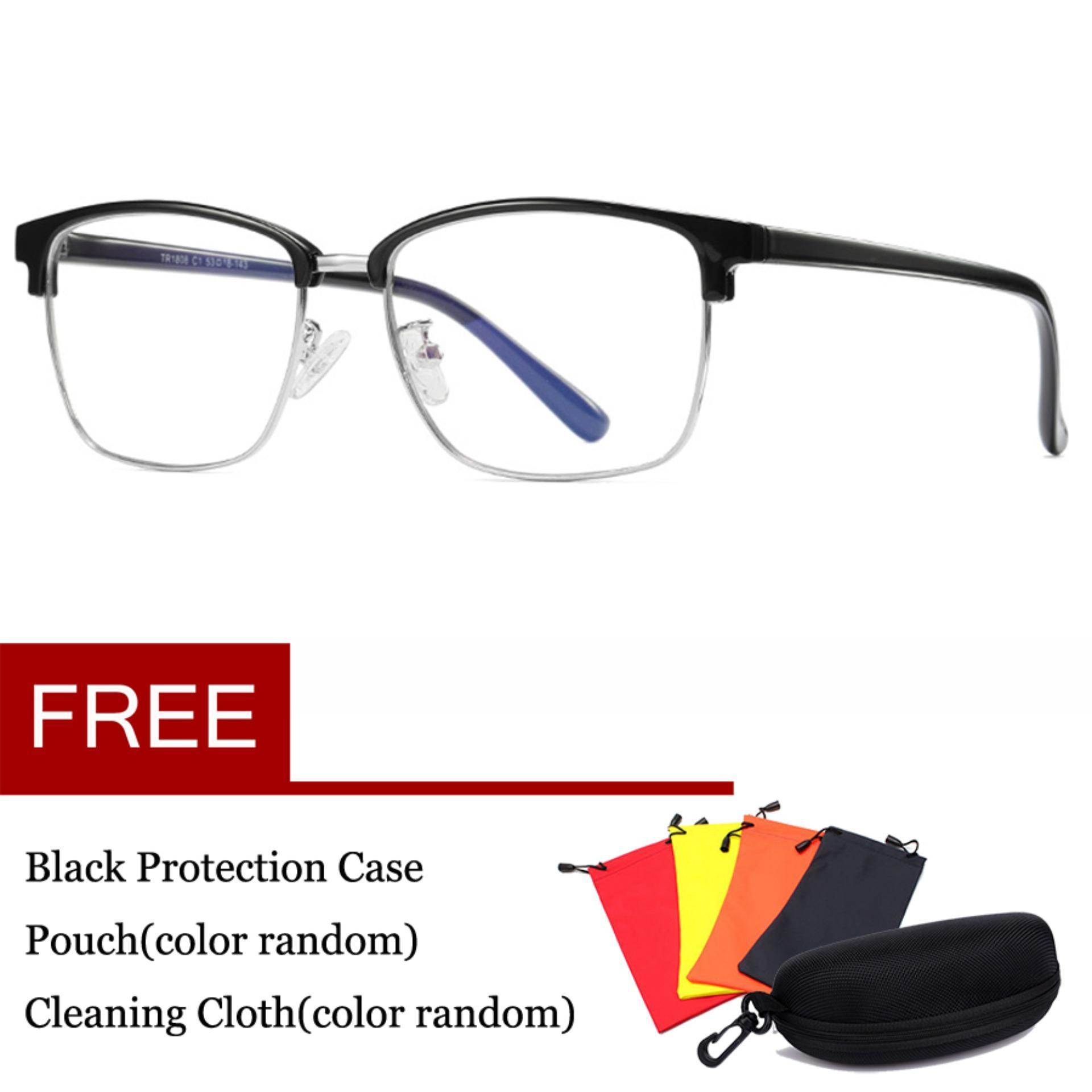 Komputer Kacamata Game Anti Cahaya Biru Kacamata Anti-silau Anti Silau  Tegangan Mata Lensa Perlindungan 6018ae25e1