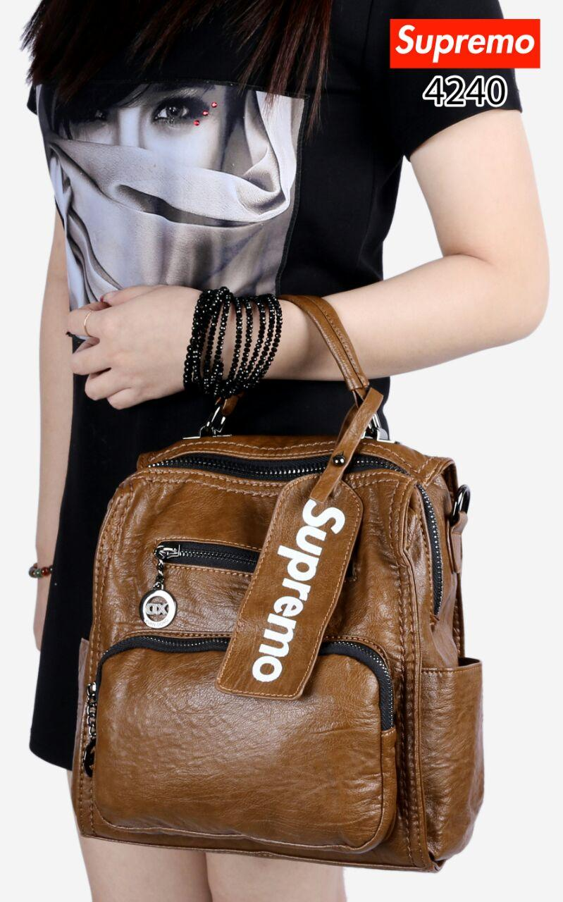 HOT ITEM Best Seller New SUPREMO XD Lady Backpack Multi Fungtion