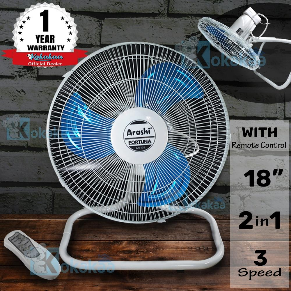 "... Mini Fan 3 Speed Kabel ... - Kipas Angin Power Bank Portable Lithium Battery - Hitam. Source · Arashi Kipas Angin 2in1 AR 138x 18"" FORTUNA + Remote 2 ..."