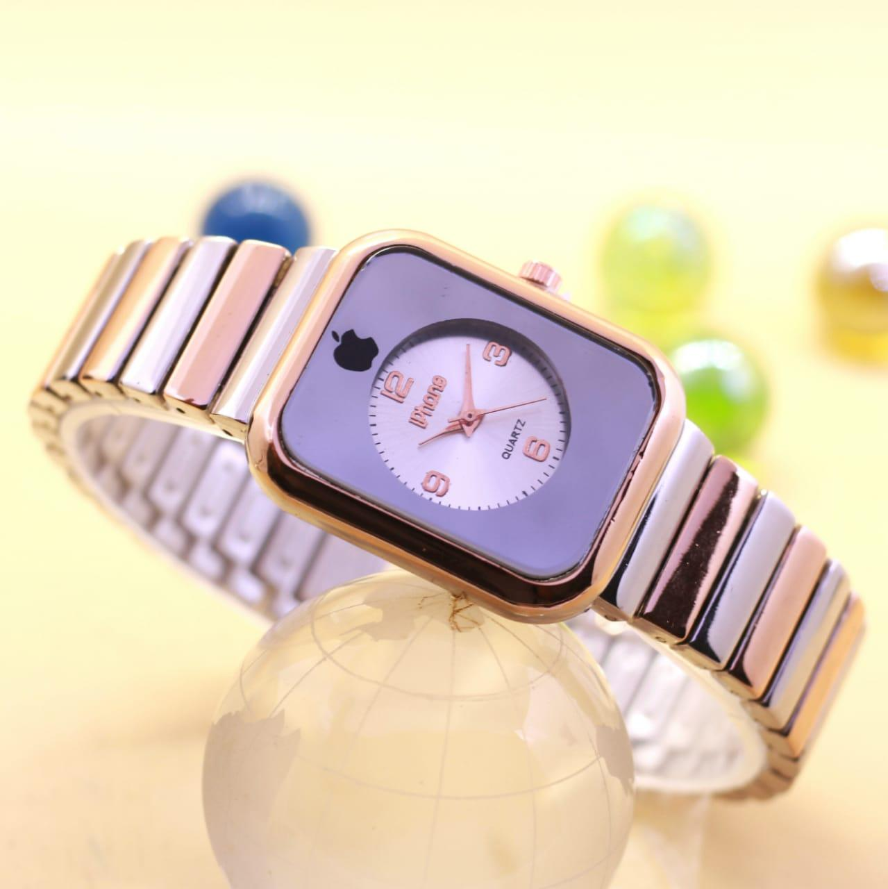 Jam Tangan No Brand Daftar Harga Desember 2018 Zeca 311 Kombi Gold Couple Stainless Steel Silver Fashion Wanita Iphone Analog Rantai