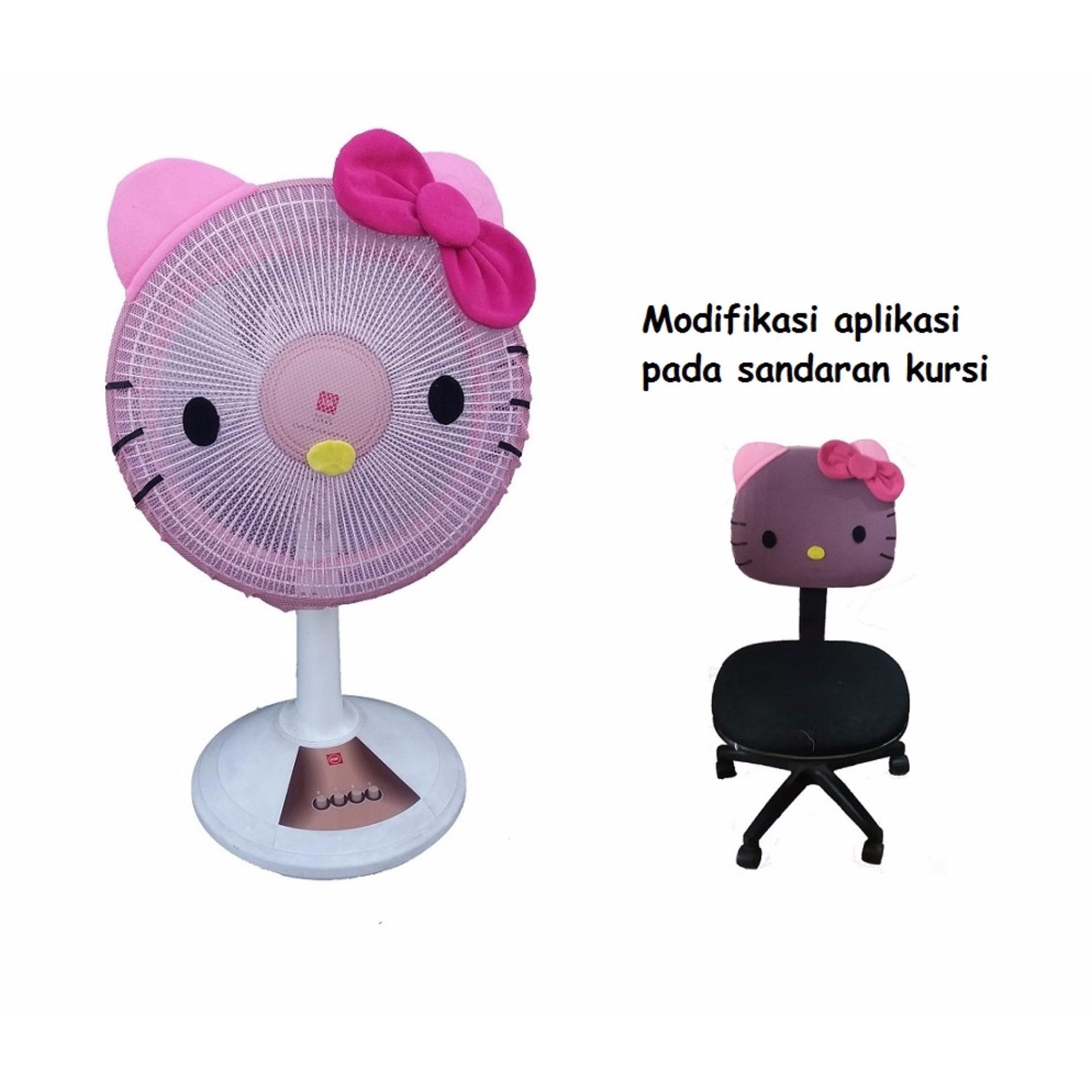 Hello Kitty Sarung Kipas Angin Membeli Jualan Online Kain Penutup