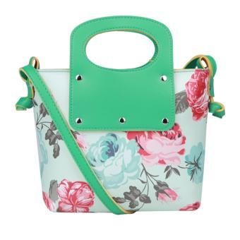 JCF Tas Selempang Fashion Anak Remaja Dan Dewasa Cantik Branded Kulit  Sintetis Import - Angela Flower c7dee6321a