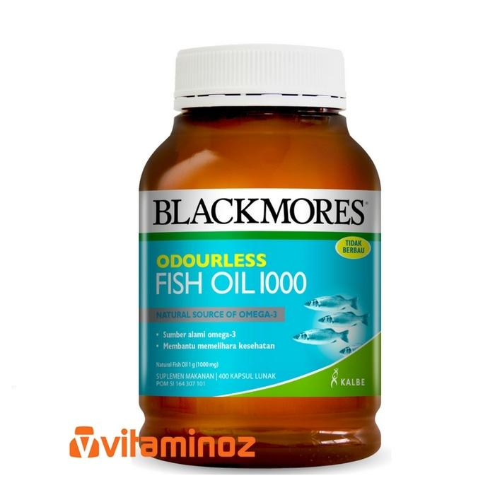 Blackmores Fish Oil 1000 Odourless (400 Caps)